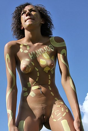 Free Young Body Paint Porn Pictures